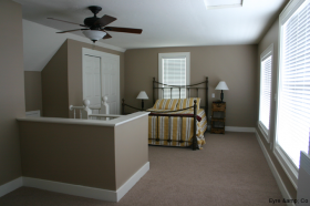 Finished Master Bedroom